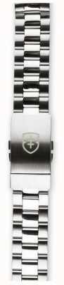 Elliot Brown 只有男士22毫米拉丝抛光不锈钢表带 STR-B01