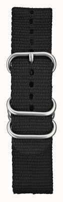 Elliot Brown 男士22毫米黑色弹道尼龙拉丝硬件 STR-N03
