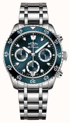 Rotary 男士瑞士制造了传统的潜水计时码表 GB90170/05