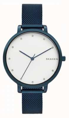 Skagen 哈根蓝色不锈钢 SKW2579