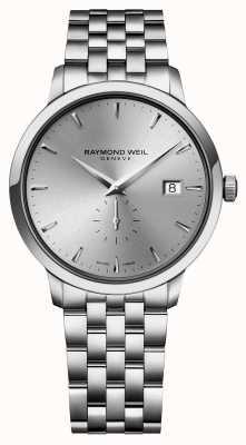 Raymond Weil 男士石英超薄不锈钢siver索引表盘 5484-ST-65001