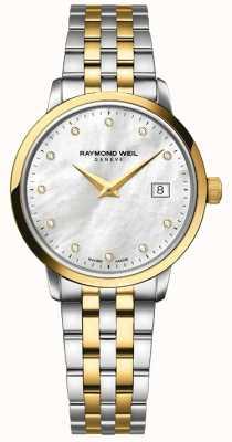 Raymond Weil 女人toccata双色金钻石 5988-STP-97081