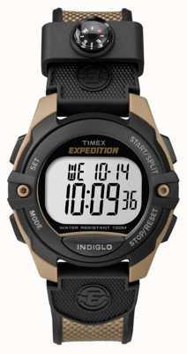 Timex 男士远征计时器闹钟计时器棕色 TW4B07800