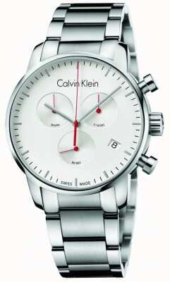 Calvin Klein 男士不锈钢城市计时腕表 K2G271Z6