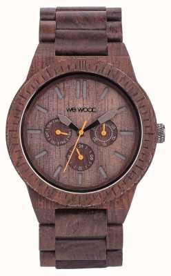 WeWood 男士卡帕巧克力木质棕色表带 70315500