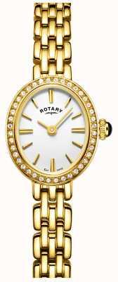 Rotary 女人镀金鸡尾酒手表 LB05051/02