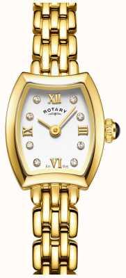 Rotary 女人镀金鸡尾酒手表 LB05055/01