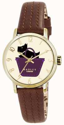 Radley 边框手表配真皮表带 RY2290