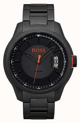 Hugo Boss Orange 香港黑色不锈钢手表 1550005