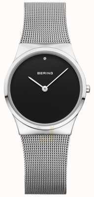Bering 女人经典网状黑色表盘 12130-002