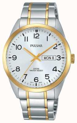 Pulsar 男士双色手表 PJ6064X1