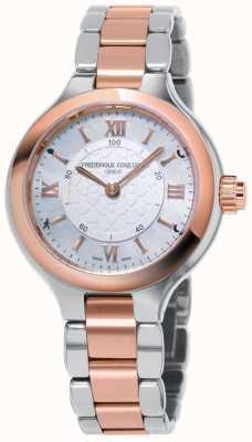 Frederique Constant 女人喜欢钟表smartwatch活动追踪器 FC-281WH3ER2B