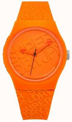 Superdry 中性城市橙色硅树脂 SYG169O