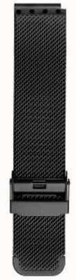 Bering 男士米兰黑色网眼表带 PT-15540-BMBX