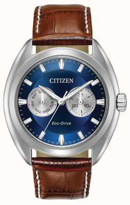 Citizen 男士生态驱动蓝色表盘Paradex BU4010-05L
