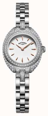 Rotary 女人娇小的石头套手镯银 LB05087/02