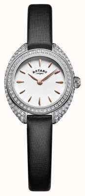 Rotary 女人娇小的石头镶银网 LS05087/02