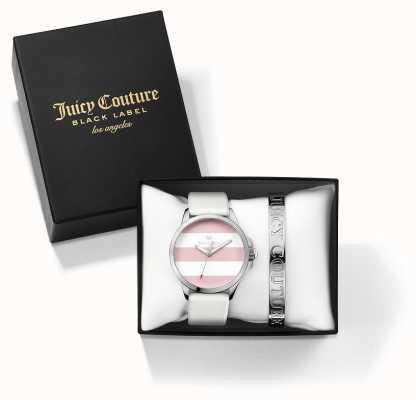 Juicy Couture 女人fergi白银手镯和手表礼物套装 1950009