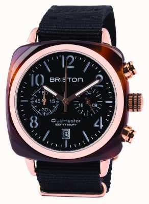 Briston 黑色经典醋酸盐计时器 14140.PRA.T.1.NB
