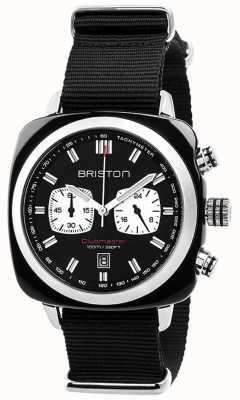 Briston 男士clubmaster运动醋酸盐chrono黑色 17142.SA.BS.1.NB