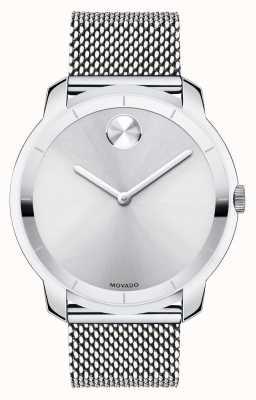 Movado 大movado大胆的不锈钢表壳k1水晶 3600260