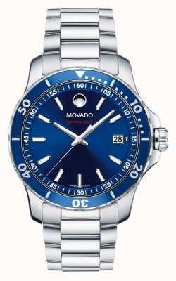 Movado 男士系列800表款钢铝运动 2600137