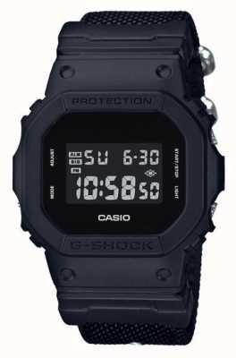 Casio 男士g-shock黑色布料表带 DW-5600BBN-1ER