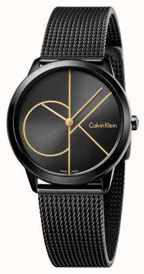 Calvin Klein 女人最小的黑色网格 K3M224X1