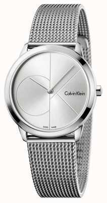 Calvin Klein 女人最小的不锈钢网 K3M2212Z