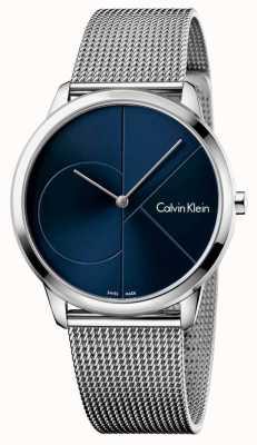 Calvin Klein 男士最小不锈钢表带 K3M2112N
