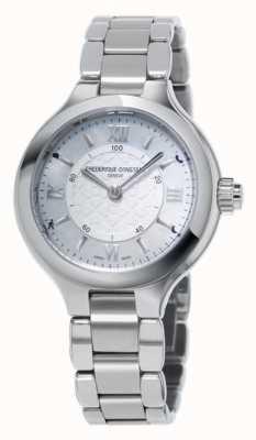 Frederique Constant 女人喜欢钟表smartwatch银 FC-281WH3ER6B