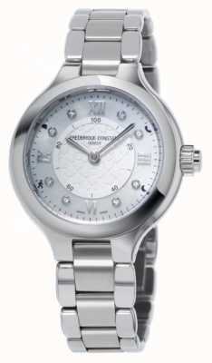 Frederique Constant 女人喜欢钟表smartwatch银 FC-281WHD3ER6B