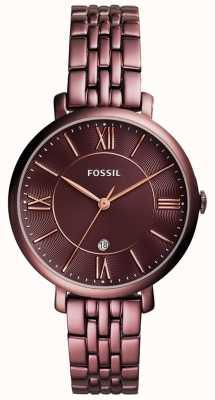 Fossil 女士jacqueline镀不锈钢 ES4100