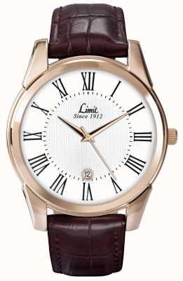 Limit 男士限制手表皮革 5453.01