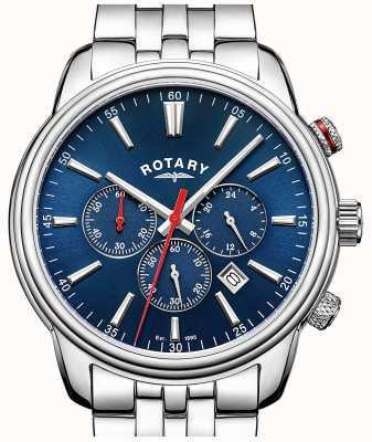 Rotary 男士摩纳哥计时码表蓝 GB05083/05