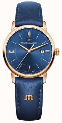 Maurice Lacroix 女人eliros蓝色皮革 EL1094-PVP01-411-1