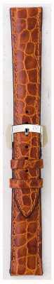 Morellato 只带 - 利物浦鳄鱼皮浅棕色16毫米 A01U0751376037CR16