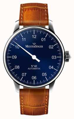 MeisterSinger 男士经典号码。 3自动阳光蓝色 AM908