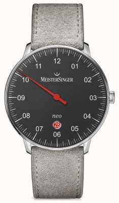 MeisterSinger 男装形式和风格新加自动黑色 NE402