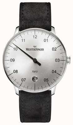 MeisterSinger 男装形式和风格新自动旭日银 NE901N