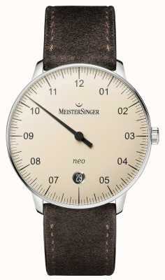 MeisterSinger 男士形式和风格新自动象牙 NE903N