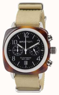 Briston Clubmaster经典醋酸盐 - 计时码表龟壳双色 13140.SA.T.1.NK