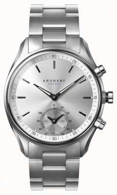 Kronaby 43毫米sekel蓝牙不锈钢表带a1000-0715 S0715/1