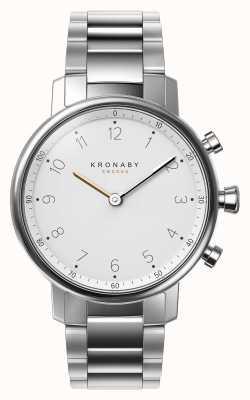 Kronaby 38毫米诺德蓝牙不锈钢表链a1000-0710 S0710/1