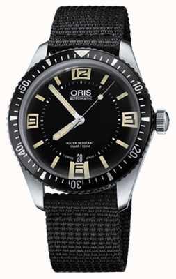 Oris 潜水员六十五个自动织物表带黑色表盘 01 733 7707 4064-07 5 20 24