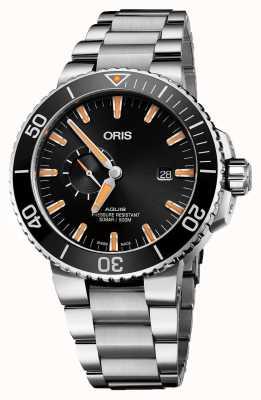Oris Aquis日期自动不锈钢黑色表盘 01 743 7733 4159-07 8 24 05PEB