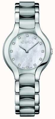 EBEL 女式白鲸钻石镶嵌不锈钢 1216038