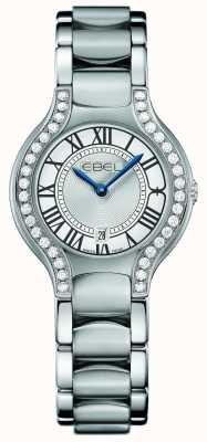 EBEL 女式白鲸钻石镶嵌不锈钢 1216069