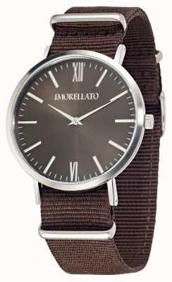 Morellato 男士vela棕色表盘棕色表带腕表 R0151134007