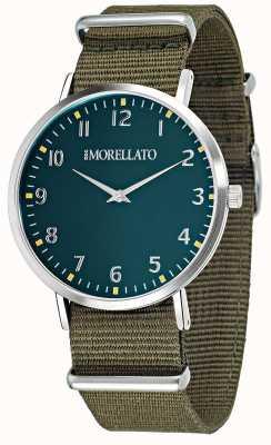 Morellato 男士vela绿色表盘/表带腕表 R0151134004